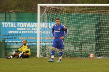 GRAYS FIND THEMSELVES ONE NIL DOWN.