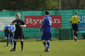THE REF PUTS AWAY HIS WHISTLE FOR THE DAY.
