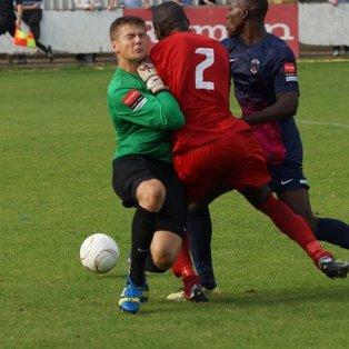 Harrow Borough 1-4 Grays Athletic