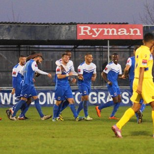 Grays Athletic 4 - 0 Witham Town