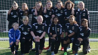 MASCOTS AT THE TILBURY GAME-ATH`S  U/14`S GIRLS  3/11/18