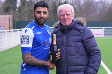 CHAMPERS DONATED &  PRESENTED BY MATIN GIBBS.