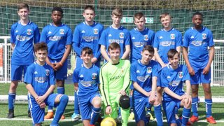 GRAYS U`15  `s  (WHITE)) YOUTH AT ROMFORD GAME 22/4/19