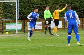 MITCH TURNS AFTER SCORING 2nd GOAL