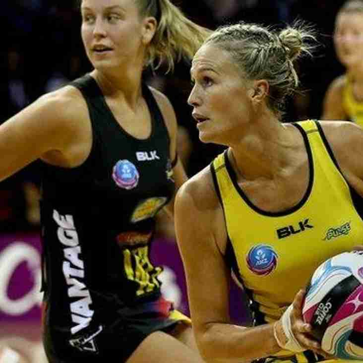 England Netball select Australia World Cup winner Chelsea Locke
