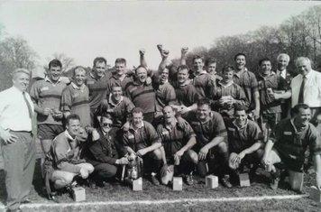 1995/96 Winners of Berkshire Price Waterhouse Cup