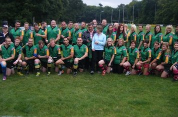 Bracknell Ladies and 3XV with Mr & Mrs Agar