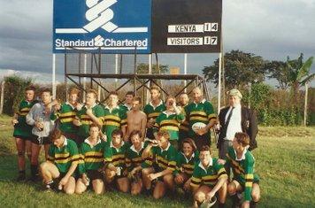 Kenya Tour Bracknell vs Kenya (1991)