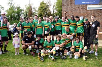 2008/09 - Winners of Berkshire Knock Out Cup (Photo courtesy of SolidPhotos.com)