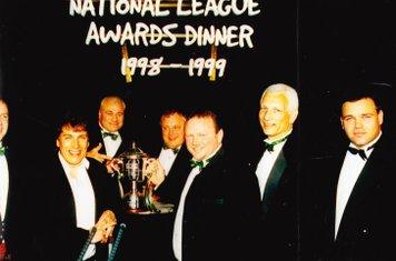 (RtoL) Howard Lamb, Andy Goble, Glyn Mosses, Steve Ward, Paul Rendall