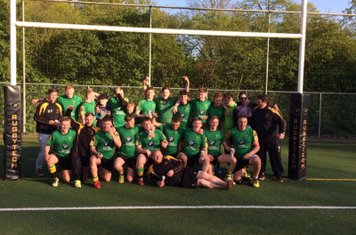 Easter 2017 - U19 win Ghent Rugby Festival