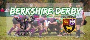 Berkshire Derby Day at BRFC