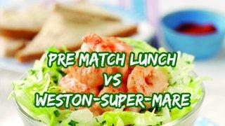 Pre Match Lunch - 1XV vs WSM
