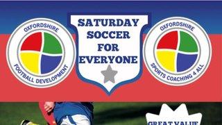 Saturday Soccer for everyone