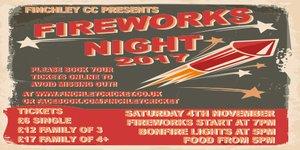 Fireworks Night 2017