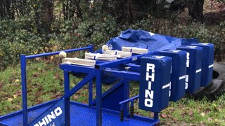 New scrum machine for youth players