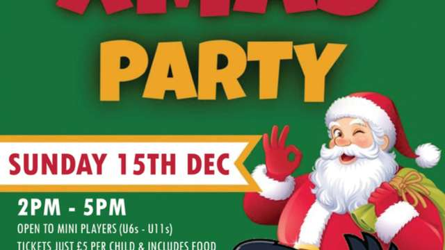 CRFC Kids Christmas Party