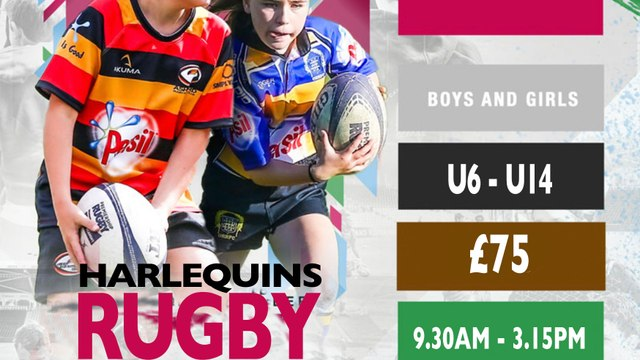 Harlequins Easter Rugby Camp returns to Steel Cross