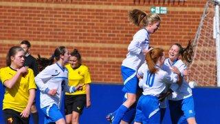 Hitchin Belles U15`s V Watford Hornets County Cup Final 2015