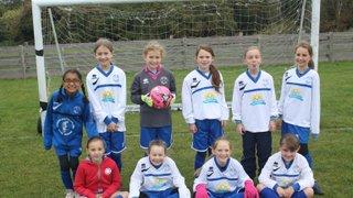 Hitchin Belles Under 10's - 17th Oct 2015