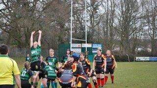 Chard Ladies RFC Vs Withycombe Ladies 20 March 2015