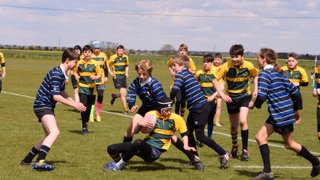 U13s vs Old Alleynians RFC second game of tour Day one 2016