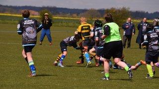 U13s vs Sevenoaks RFC third game of tour day 1