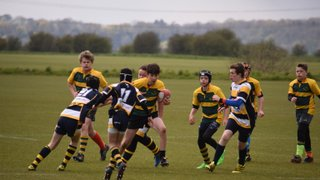 U13s vs Eastbourne RFC fifth game Day one of tour 2016