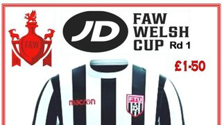 Preview : Flint v Four Crosses, JD Welsh Cup Rd 1, 19th Oct