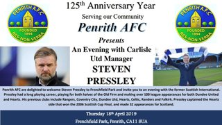 An evening with Steven Pressley