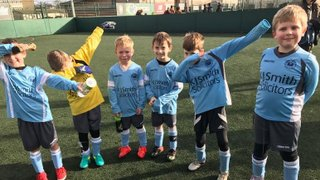Match Report: Woodley United U8 Cyclones v Caversham Trents U8 Gold