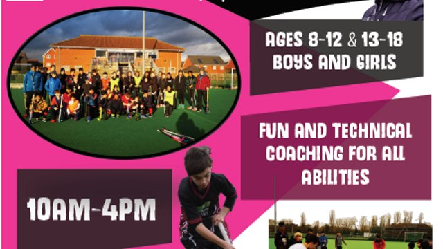 Slough Easter Hockey Camp Tuesday 6th & Wednesday 7th April 2021