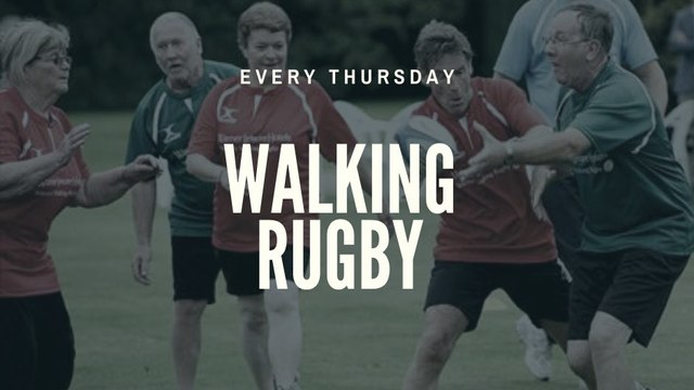 The return of Walking Rugby
