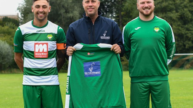 Edd Frost & Daughters - 1st Team Tracksuit Sponsor!
