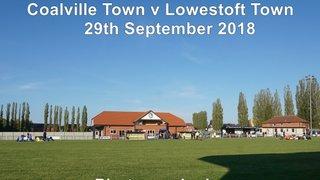 Coalville Town v Lowestoft Town (Saturday 29 September 2018)