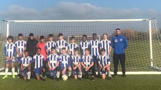U15s claw their way back from 3-0 down