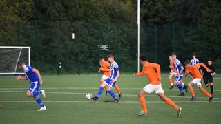 Opening game against Rugby Borough is a tale of two halves