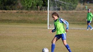 U11 girls Kidderminster Lions vs Worcester City