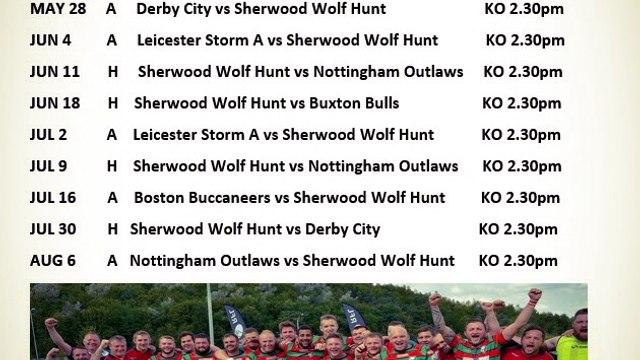 2016 Fixtures Announced