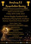 Pinnstars Presentation Evening 2018/19