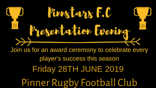 Pinnstars Presentation Evening 2018/19