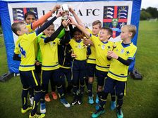 U11 Reds win LPOSSA youth football tournament!