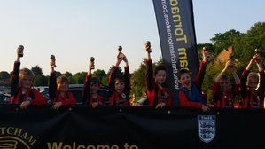 Under 9s Win Thatcham Tornadoes Plate Competition