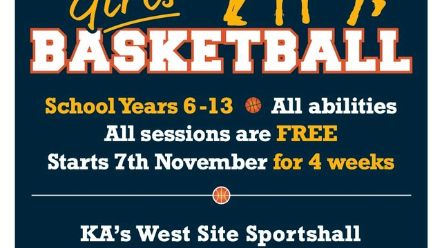 Free Girls Only Basketball Sessions
