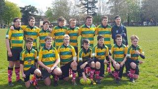 Under 15's tour to Abergavenny