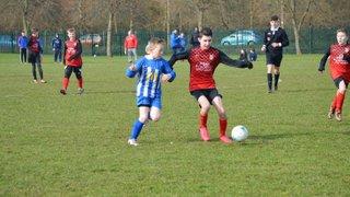 Under 13s Juniors v Winterbourne United Whites