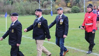 Mansfield RUFC - 2018 Remembrance Parade