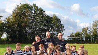 Chinnor RFC U9's training – 20.10.19