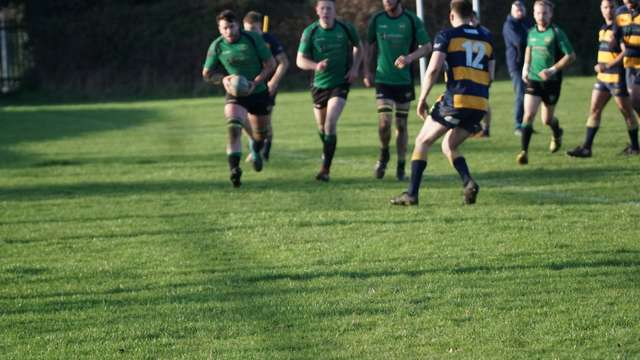 Away bonus point win secured in spite of strong home scrummage