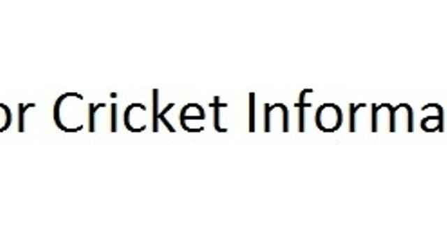 Senior Cricket Information